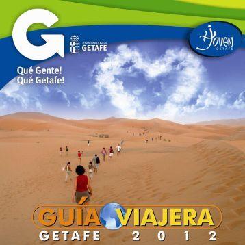 Guía viajera 2012. Ayuntamiento de Getafe - Injuve