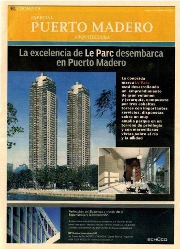 Le Parc Puerto Madero – El Cronista 08 – 2005 - ASN/nOISE