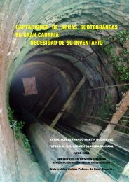 Captaciones de aguas subterráneas en Gran Canaria - Acceda ...