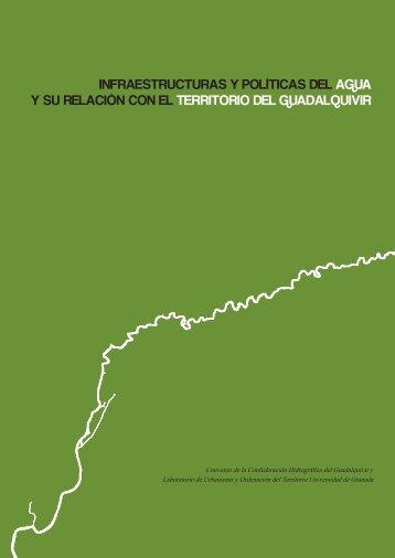 infraestructuras y políticas del agua y su relación con el territorio del ...