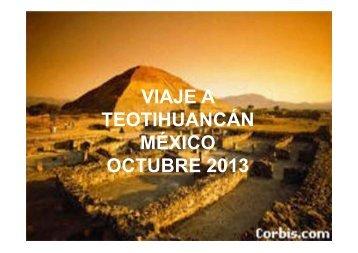 VIAJE A TEOTIHUANCÁN MÉXICO OCTUBRE 2013 - sandra murguet