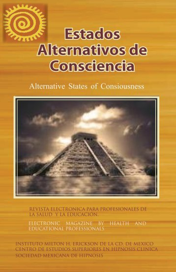Estados Alternativos de Consciencia - Instituto Milton H. Erickson de ...