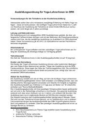 Ausbildungsordnung - (DRK) Landesverband Sachsen-Anhalt