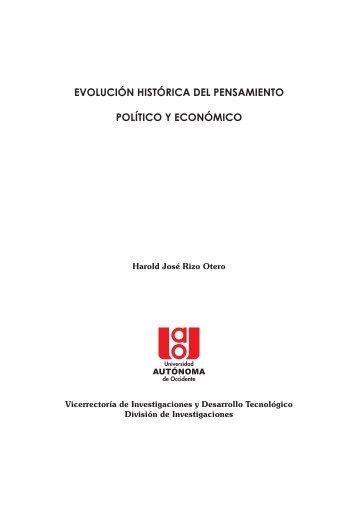 Evolución histórica del Pensamiento.cdr - Repositorio Digital ...