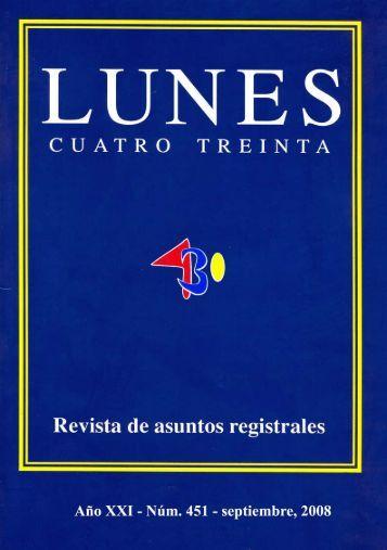 Revista nº 451 - Registradores Comunidad Valenciana