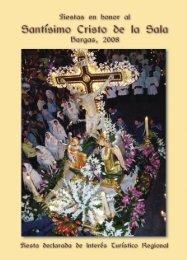 Libro de Fiestas 2008 - Hermandad del Stmo. Cristo de la Sala