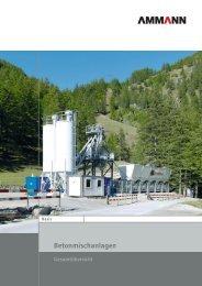 Betonmischanlagen - Ammann Group