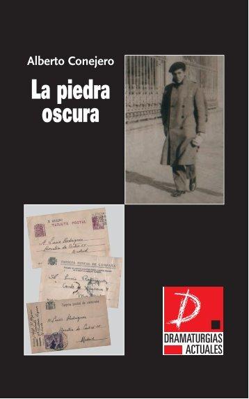 La piedra oscura - Muestra de Teatro Español de Autores ...