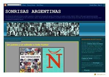 SONRISAS ARGENTINAS - Red de historia de los medios