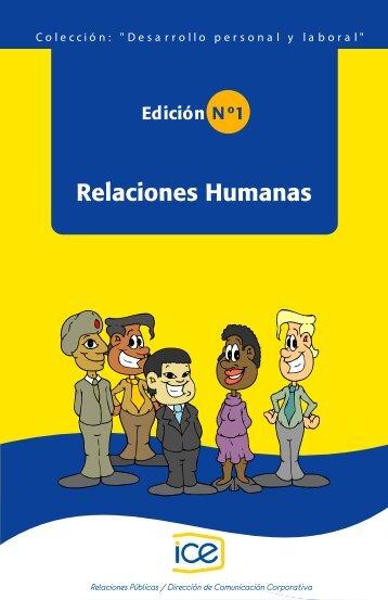1. Relaciones humanas - Grupo ICE