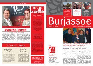 Número 4 - Junio 2006 - PSPV - PSOE Burjassot