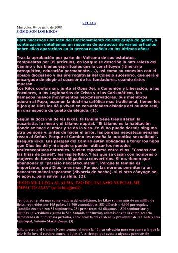 Los kikos ... más - Papeles de Sociedad.info
