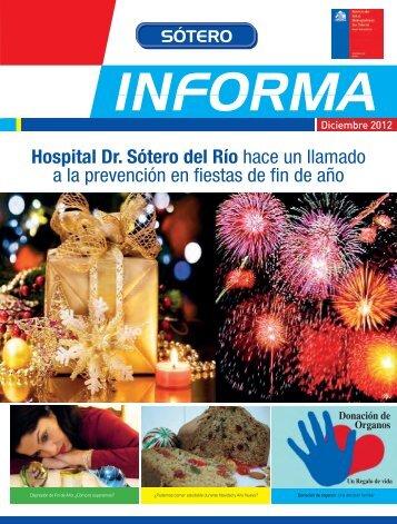 Boletín Diciembre 2012 - Hospital Sótero del Río