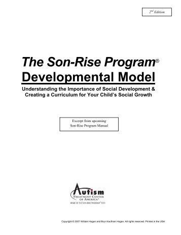 The son rise program developmental model autism treatment the son rise program developmental model autism treatment m4hsunfo Images