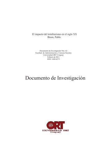 El impacto del totalitarismo - Universidad ORT Uruguay