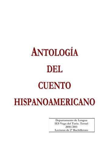 ANTOLOGÍA DEL CUENTO HISPANOAMERICANO - Lengua - IES ...