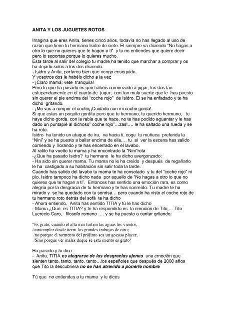 Descargar Y Cuento 1espejo1000ventanas Los Anita Rotos Juguetes R4ALj35