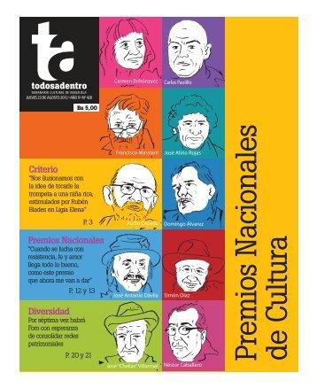 Diversidad Criterio Premios Nacionales - Aporrea
