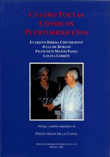 evaristo ribera chevremont julia de burgos francisco matos paoli ...