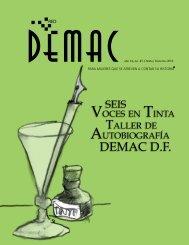 Seis Voces en Tinta, Taller de Autobiografía DEMAC D.F.