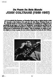 22. John Coltrane. De fuera de este mundo - Dena Flows