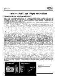 Farmacocinética das Drogas Intravenosas - Sociedade Brasileira de ...