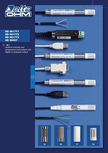 HD 9817T1 HD 9817T2 HD 9817T3 HD 9809T - Delta Ohm S.r.l.