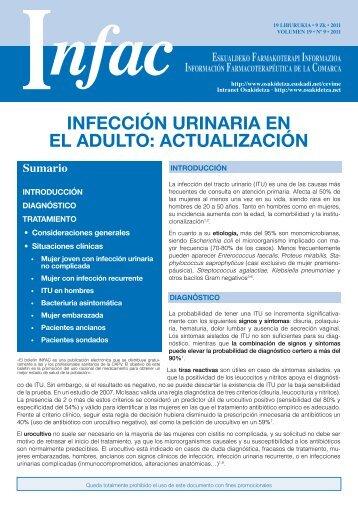 infección urinaria en el adulto - Osakidetza - Euskadi.net