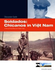 Soldados: Chicanos in Viê. t Nam - PBS