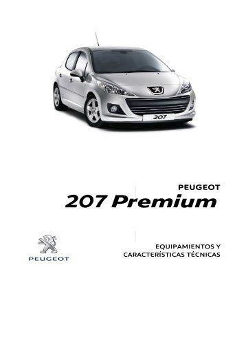 Ficha Técnica 207 Premium - Peugeot Chile