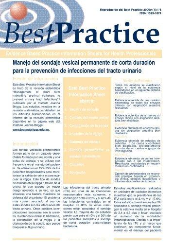 Manejo del sondaje vesical permanente de corta ... - MurciaSalud