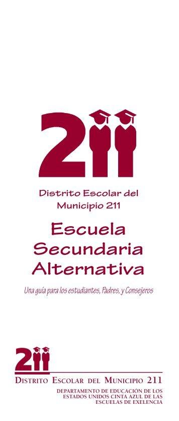 Escuela Secundaria Alternativa - Township High School District 211