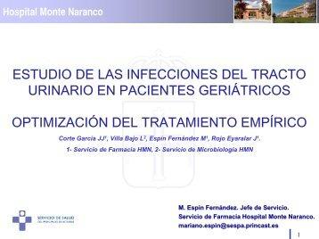 estudio de las infecciones del tracto urinario en pacientes ...