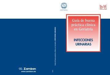 Guía de buena práctica clínica en Geriatría: Infecciones urinarias ...
