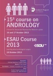 programa preliminar 15e CURSO ANDROLOGIA