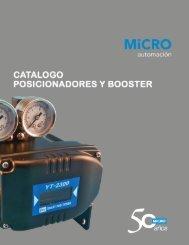 Posicionadores Electro Neumáticos - micro