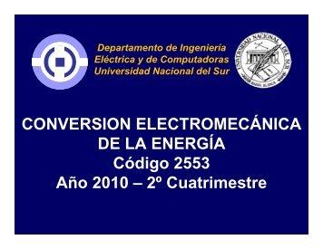 Maquinas Rotantes - Departamento de Ingeniería Eléctrica y de ...