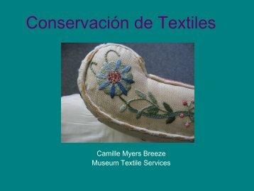 Textile Care - Museum Textile Services