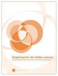 Guía para la organización de clubes nuevos - Rotary International