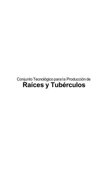 Raíces y Tubérculos - Estación Experimental Agrícola