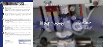 SCO MACHINE - Schmucker