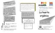 Huerta Orgánica – CERBAN