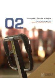 Transpaletas manuales - Baygar