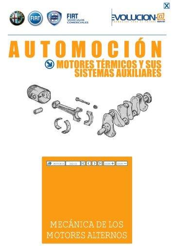 mecánica de los motores alternos - Escuela Profesional San Francisco