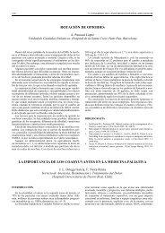 rotación de opioides - Revista de la Sociedad Española del Dolor