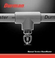 Manual Técnico BlazeMaster - Durman.com.co