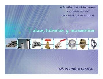 Tubos, tuberías y accesorios
