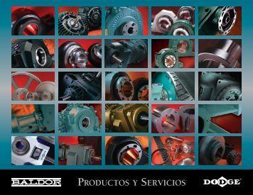 Productos y servicios - Baldor