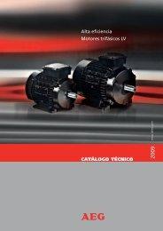 Catalogo AEG 2009 6:Layout 1 - Lafert Motores Electricos