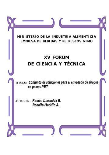 Descargar Documento - Forum de Ciencia y Técnica